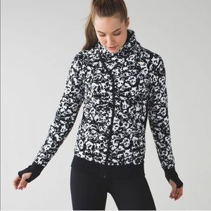 lululemon | new fleur sombre cozy cuddle up jacket